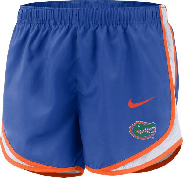 Nike Women's Florida Gators Blue Dri-FIT Tempo Shorts product image