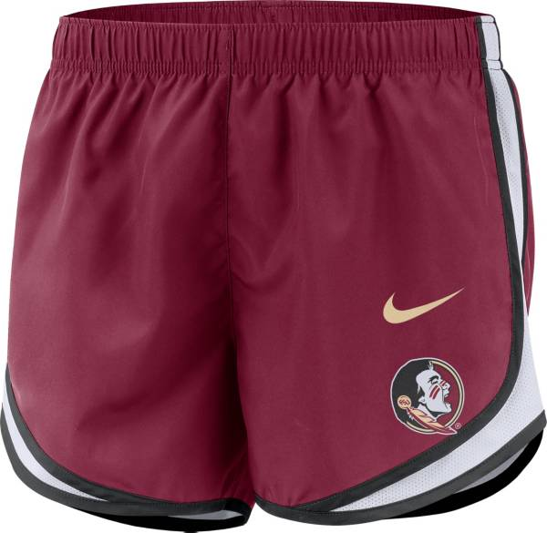 Nike Women's Florida State Seminoles Garnet Dri-FIT Tempo Shorts product image