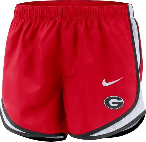 Nike Women's Georgia Bulldogs Red Dri-FIT Tempo Shorts product image