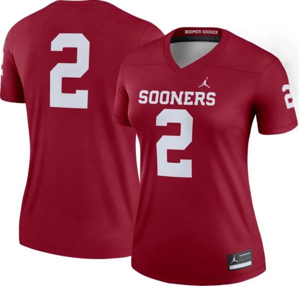 Jordan Women's Oklahoma Sooners #2 Crimson Dri-FIT Legend Football Jersey product image