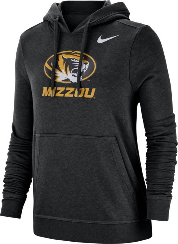Nike Women's Missouri Tigers Club Fleece Pullover Black Hoodie product image