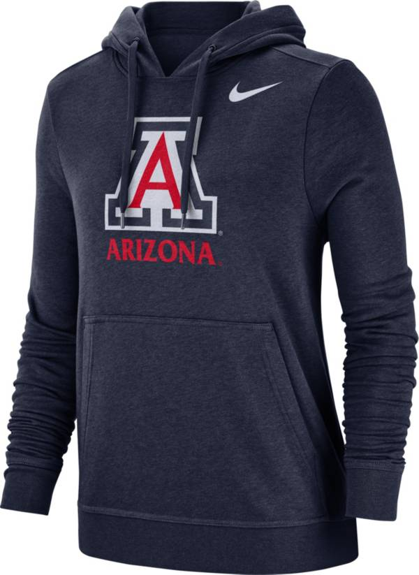 Nike Women's Arizona Wildcats Navy Club Fleece Pullover Hoodie product image