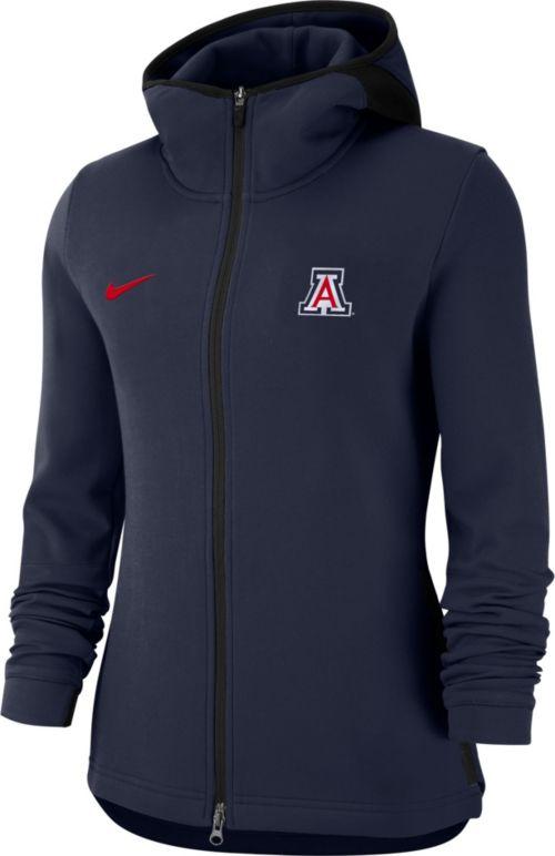 f7f4f1563cd Nike Women s Arizona Wildcats Navy Dri-FIT Showtime Full-Zip ...