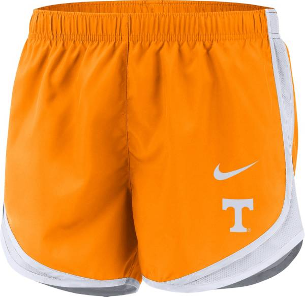 Nike Women's Tennessee Volunteers Dri-FIT Tempo White Shorts product image