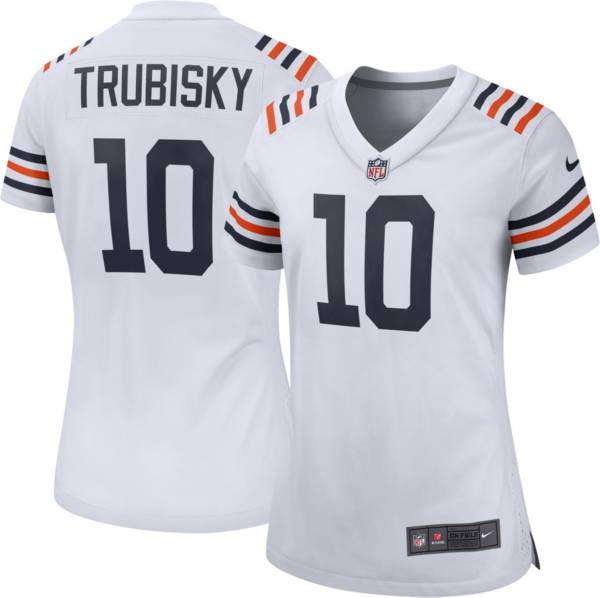 Nike Women's Chicago Bears Mitchell Trubisky #10 White Game Jersey product image