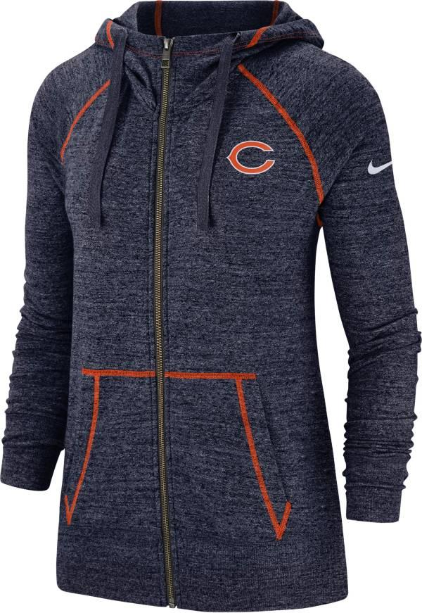 Nike Women's Chicago Bears Vintage Navy Full-Zip Hoodie product image
