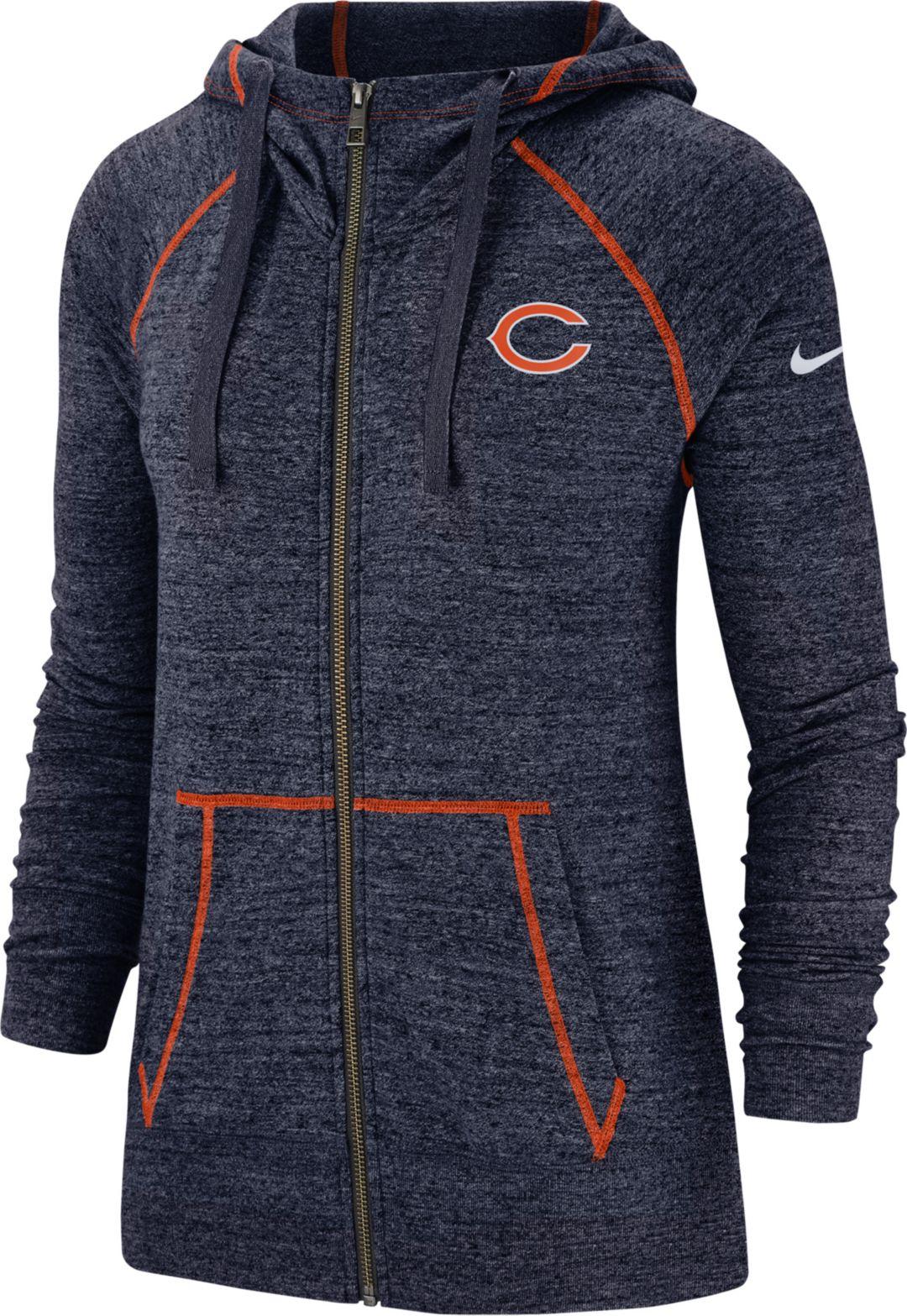 c5c7664a Nike Women's Chicago Bears Vintage Navy Full-Zip Hoodie