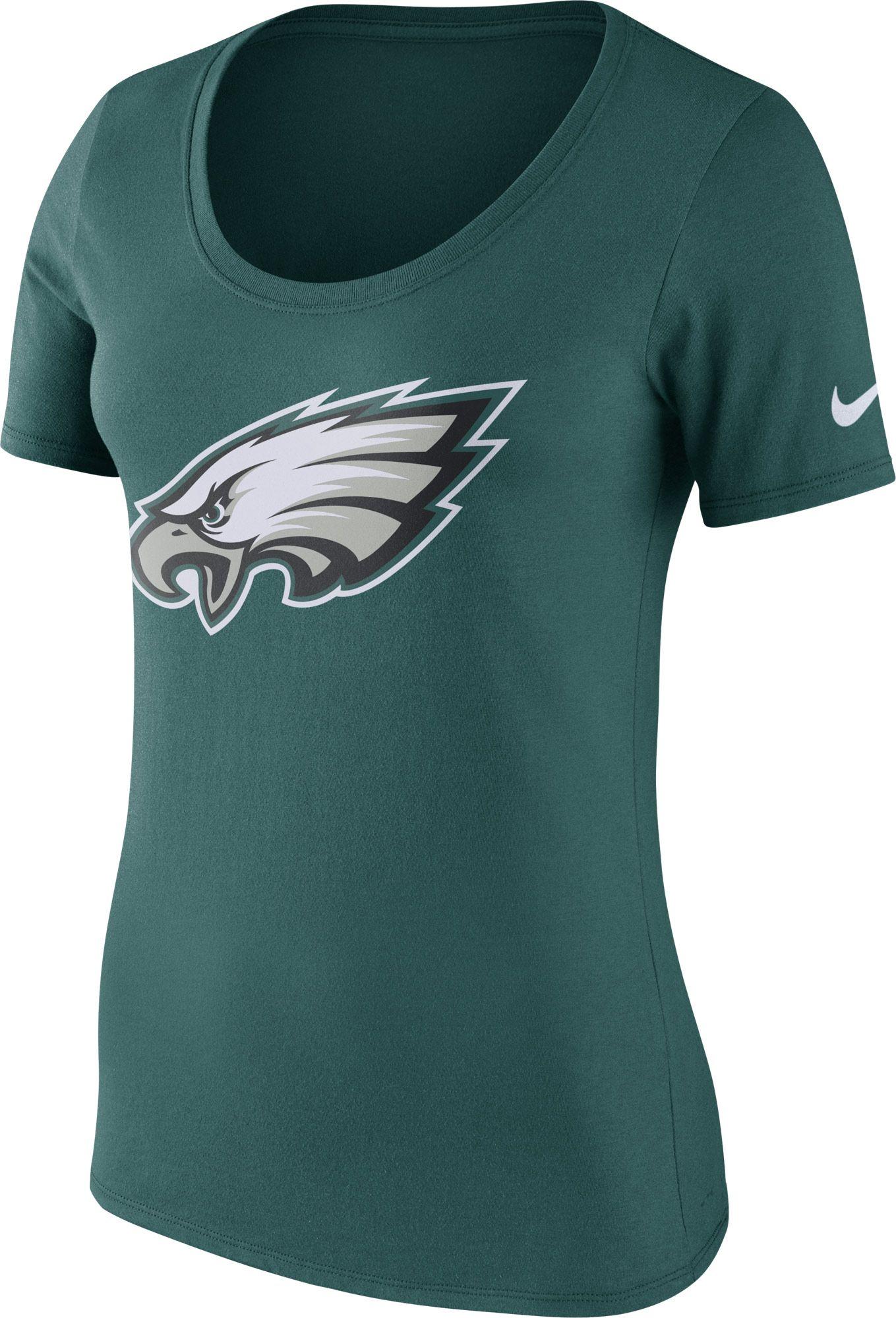 Philadelphia Eagles Logo Scoop Neck
