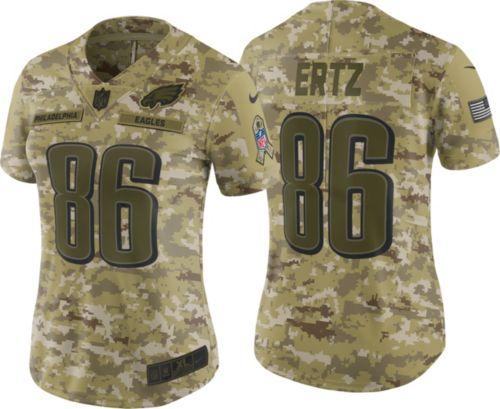 088f57a0443 Nike Women s Salute to Service Philadelphia Eagles Zach Ertz  86 Camouflage  Limited Jersey. noImageFound. Previous
