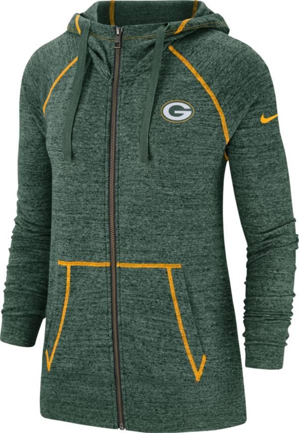 Nike Women's Green Bay Packers Vintage Green Full-Zip Hoodie product image