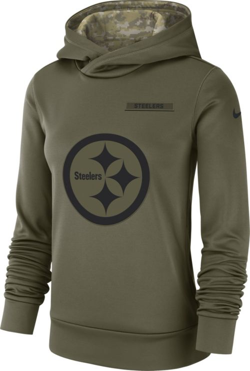 c197e8f23 Nike Women s Salute to Service Pittsburgh Steelers Therma-FIT Performance  Hoodie. noImageFound. Previous