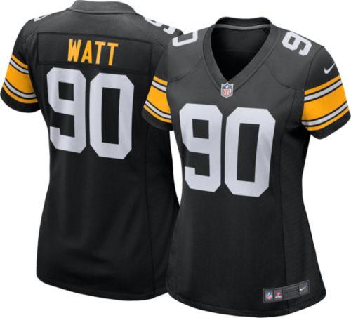 858cdd9d923 Nike Women's Alternate Game Jersey Pittsburgh Steelers T.J. Watt #90.  noImageFound. Previous