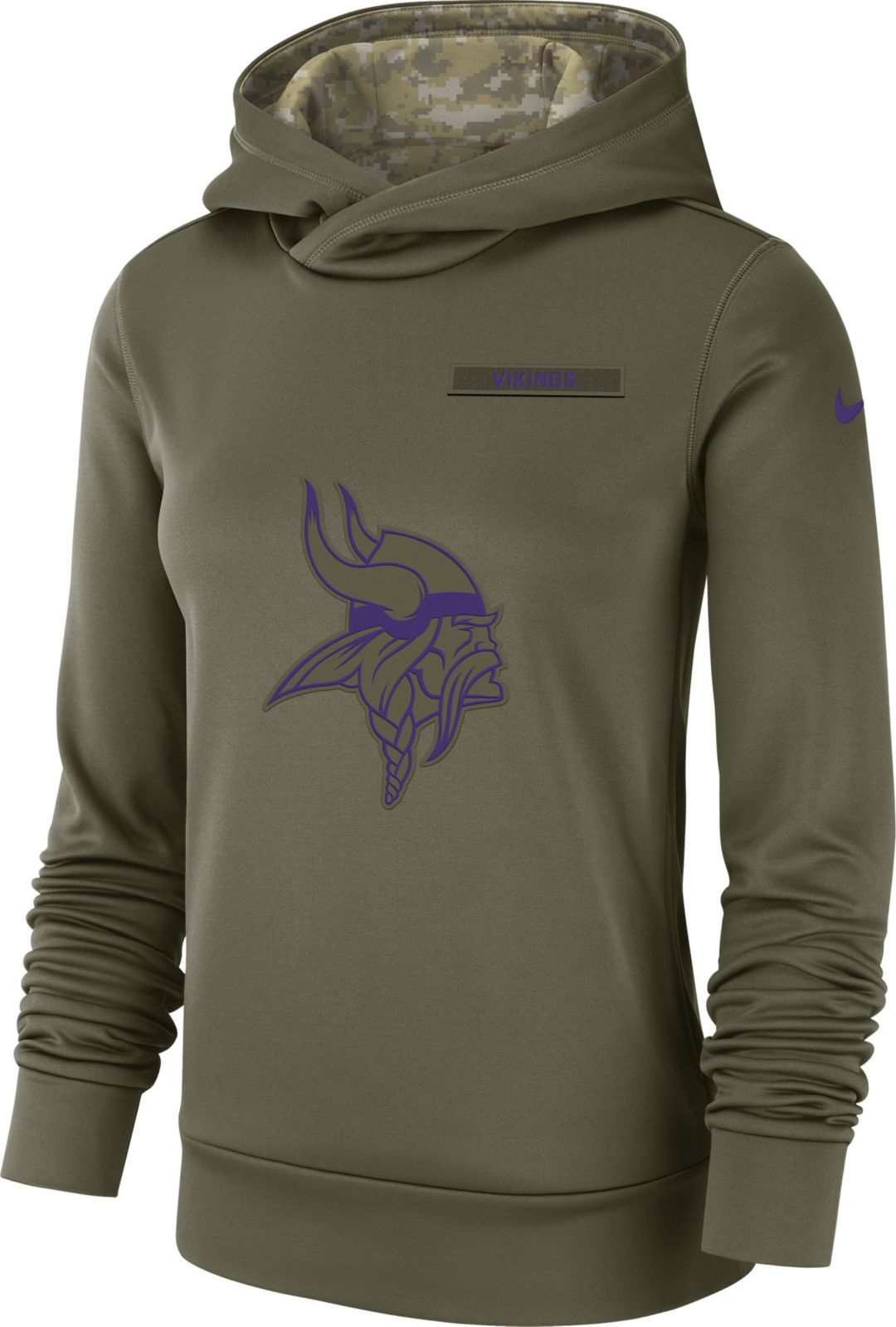 newest collection 2a8cd 27070 Nike Women s Salute to Service Minnesota Vikings Therma-FIT Performance  Hoodie. noImageFound. Previous