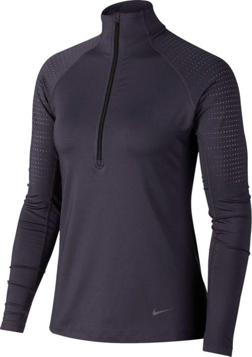 89e8b75d Nike Women's Pro Warm Half-Zip Training Pullover. noImageFound. Previous