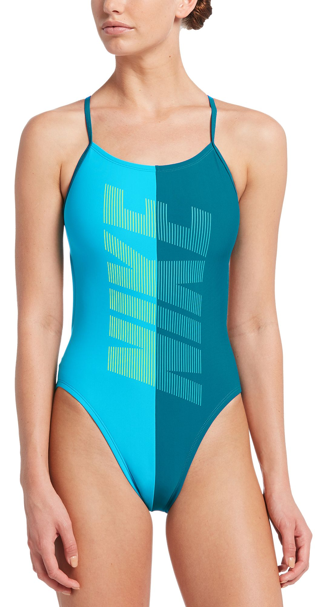 800fa7cc1 Nike Women's Rift Cut-Out One Piece Swimsuit | DICK'S Sporting Goods