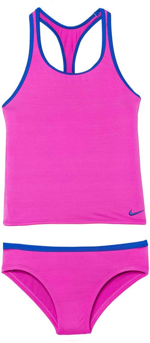 b62706468d2c Nike Girls  Racerback Sport Tankini Set