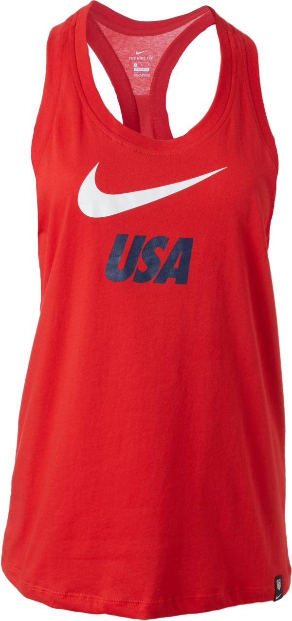 Nike Women's 2019 FIFA Women's World Cup USA Soccer Red Racerback Tank product image