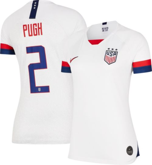 d144e2736b2 Nike Women s 2019 FIFA Women s World Cup USA Soccer Mallory Pugh  2 Breathe  Stadium Home Replica Jersey. noImageFound. Previous