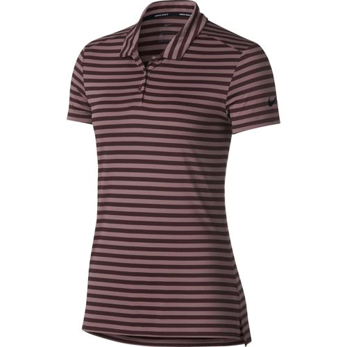 df059a7d Nike Women's Dry Short Sleeve Striped Golf Polo. noImageFound. Previous
