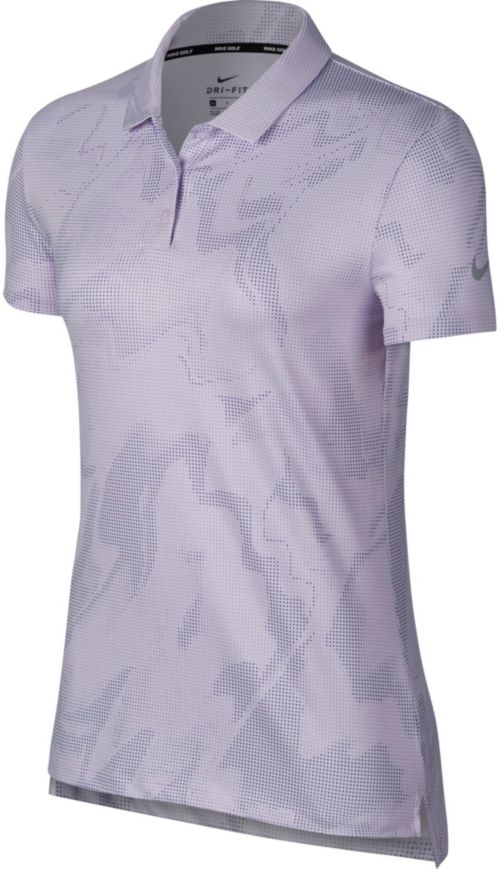 831181a59 Nike Women's Dry Short Sleeve Printed Golf Polo. noImageFound. Previous