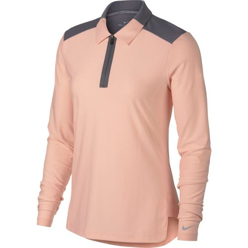 f01519cf Nike Women's Zonal Cooling Long Sleeve Golf Polo. noImageFound. Previous