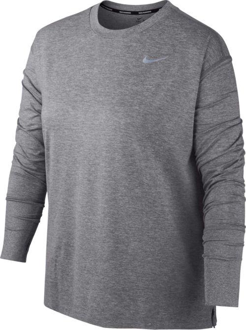 2d87f0bb39c Nike Women s Plus Size Dry Element Long Sleeve Running Shirt. noImageFound.  Previous