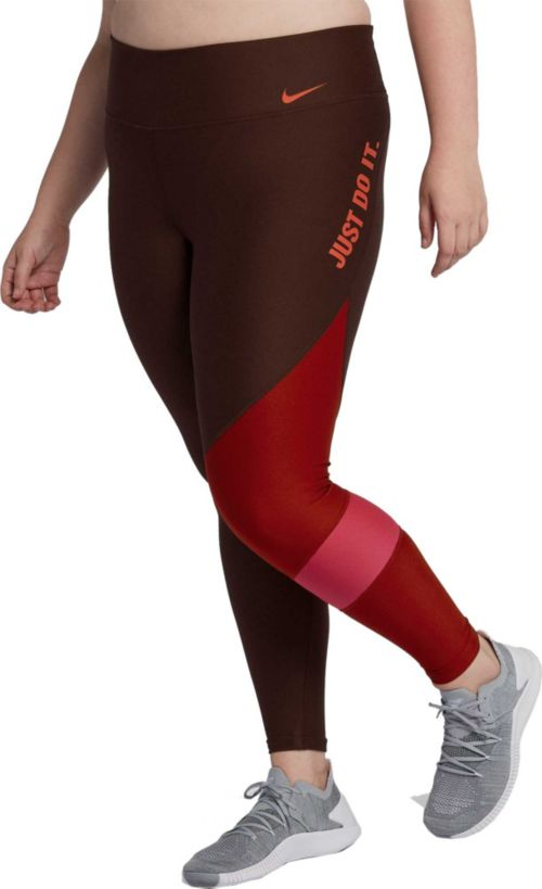 1adc78bb4495e Nike Women's Plus Size Power Team Training Tights | DICK'S Sporting ...