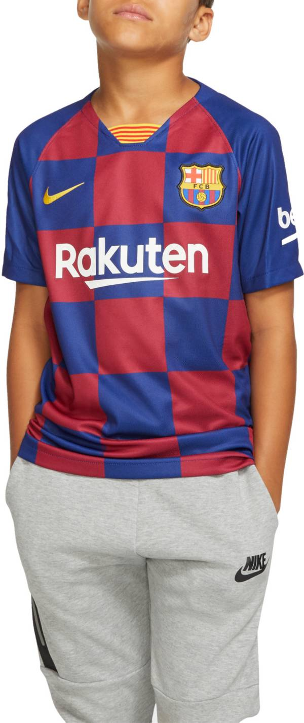 Nike Youth FC Barcelona '19 Breathe Stadium Home Replica Jersey product image