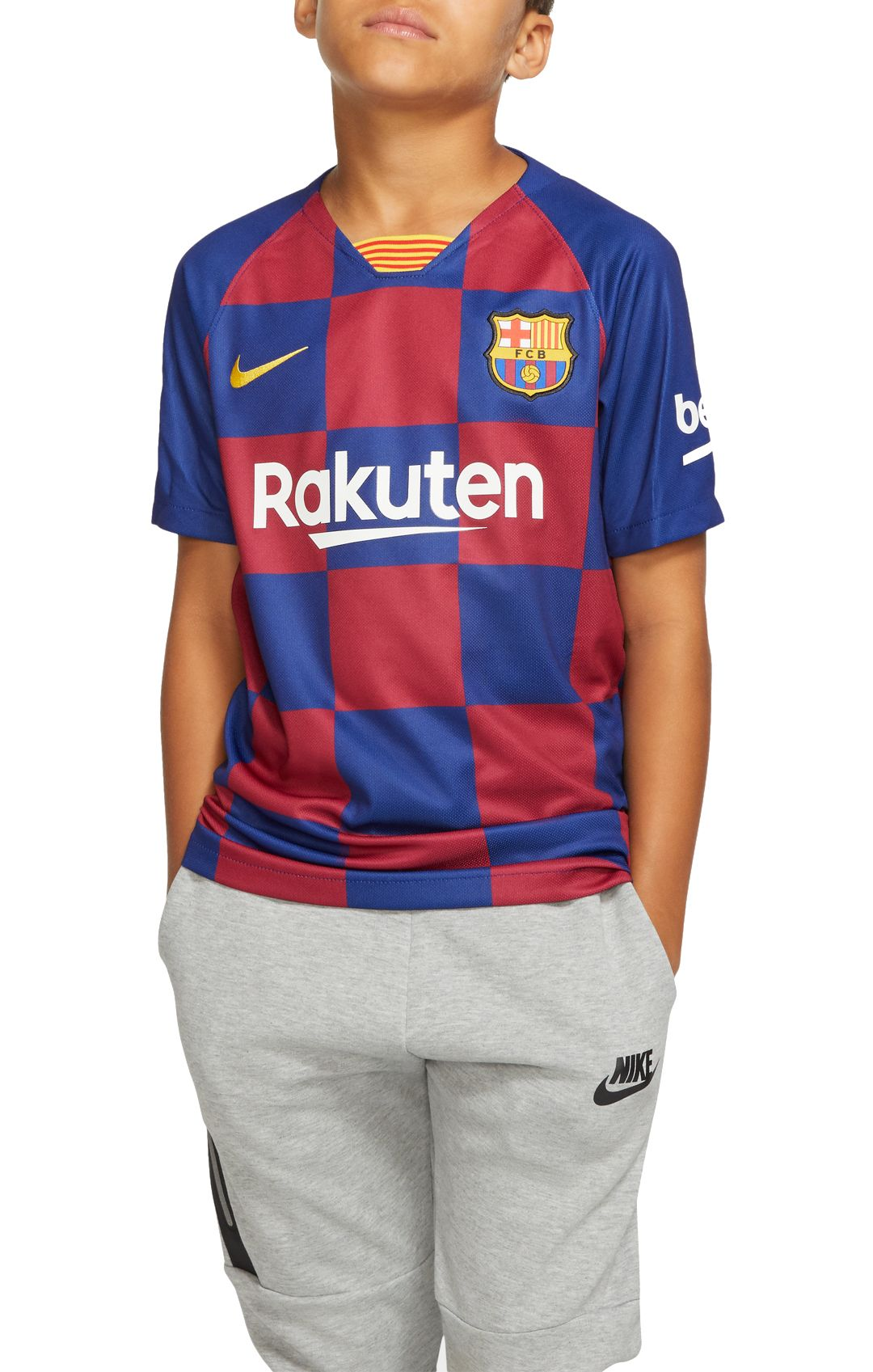 8fee4819451 Nike Youth FC Barcelona '19 Breathe Stadium Home Replica Jersey