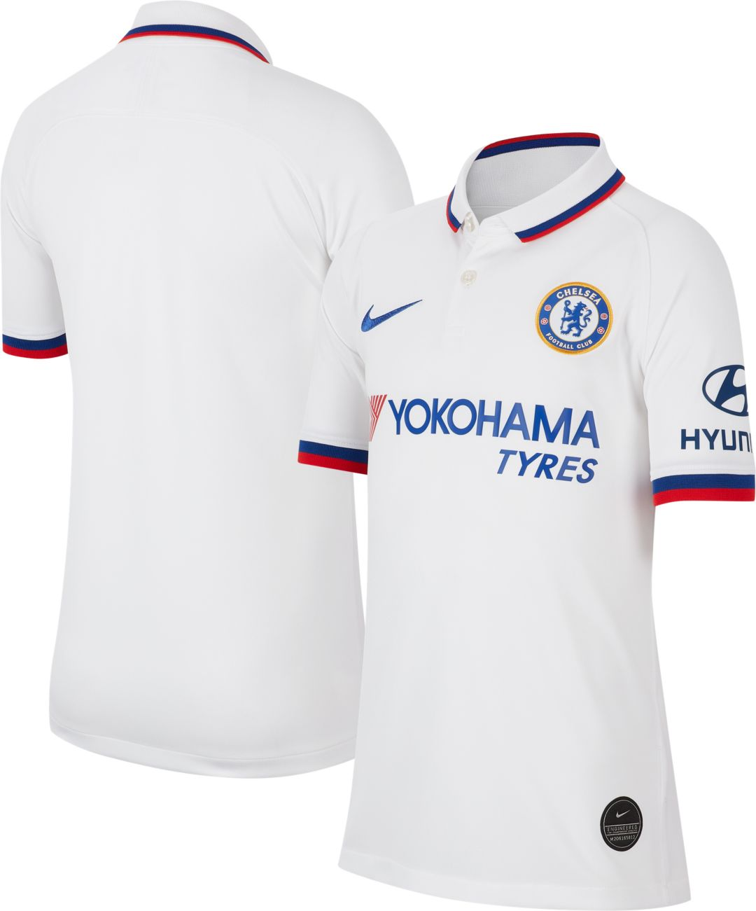 eb5bc50286c246 Nike Youth Chelsea FC '19 Breathe Stadium Away Replica Jersey ...