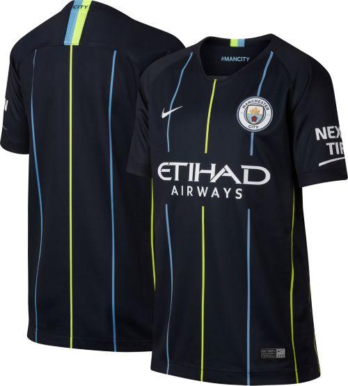 b6467d26fc14d Nike Youth Manchester City 2018 Breathe Stadium Away Replica Jersey.  noImageFound. Previous