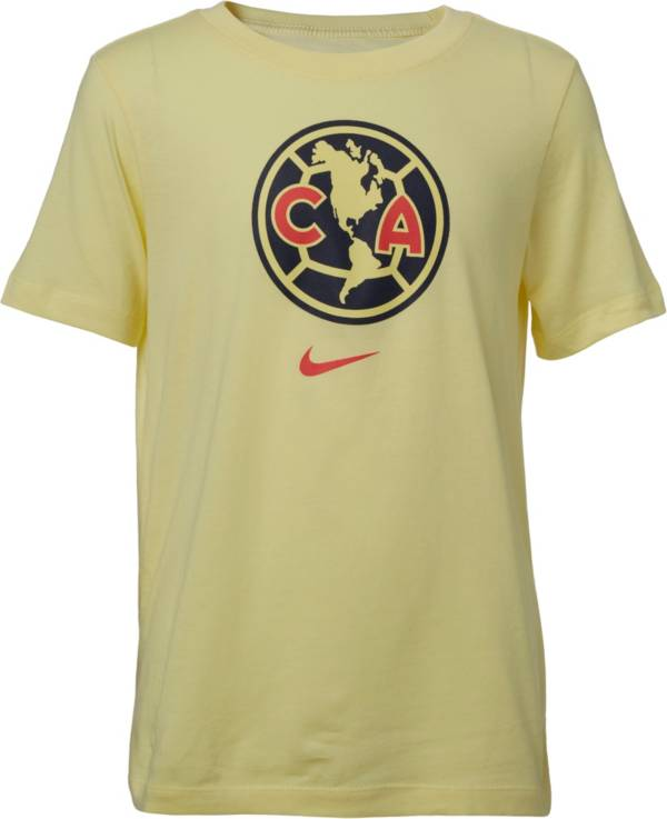 Nike Youth Club America Crest Yellow T-Shirt product image