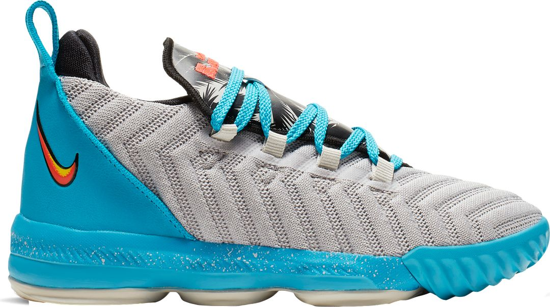 release date f8c6e aa514 Nike Kids' Preschool LeBron 16 Basketball Shoes