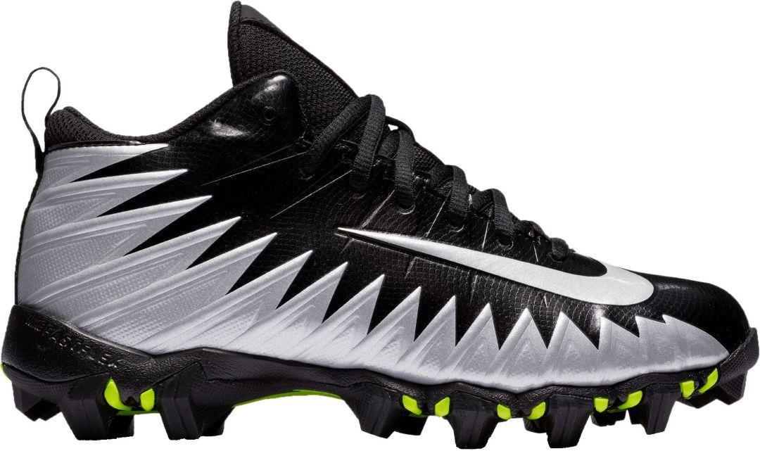 fa7abea3d679 Nike Kids' Alpha Menace Shark Football Cleats. noImageFound. Previous
