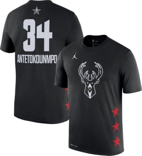 715931198 Jordan Youth 2019 NBA All-Star Game Giannis Antetokounmpo Dri-FIT Black T- Shirt. noImageFound. Previous