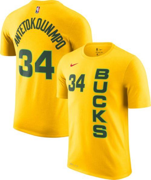 Nike Youth Milwaukee Bucks Giannis Antetokounmpo Dri-FIT City Edition  T-Shirt. noImageFound. Previous 6e6cf166e