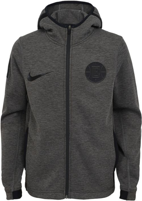 30502226d3a4 Nike Youth Los Angeles Clippers On-Court Dri-FIT Showtime Full-Zip ...
