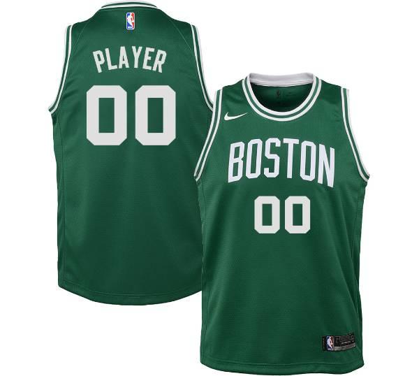 Nike Youth Full Roster Boston Celtics Kelly Green Dri-FIT Swingman Jersey product image