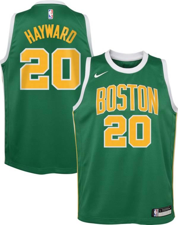 Nike Youth Boston Celtics Gordon Hayward Dri-FIT Earned Edition Swingman Jersey product image