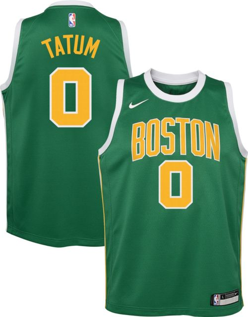 e0a6b2135be Nike Youth Boston Celtics Jayson Tatum Dri-FIT Earned Edition Swingman  Jersey. noImageFound. Previous