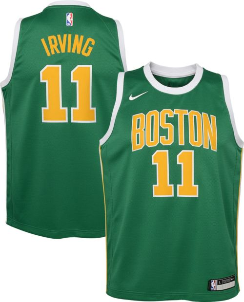 365d2580c Nike Youth Boston Celtics Kyrie Irving Dri-FIT Earned Edition Swingman  Jersey. noImageFound. Previous