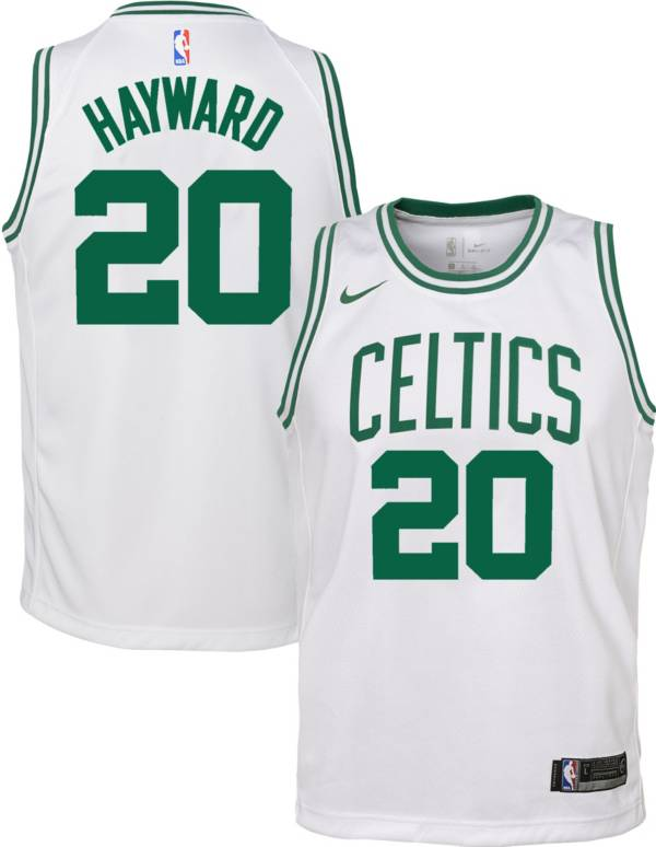 Nike Youth Boston Celtics Gordon Hayward #20 White Dri-FIT Swingman Jersey product image