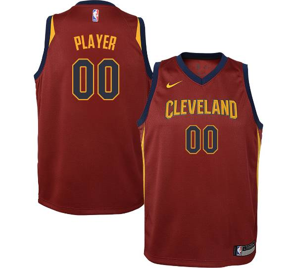 Nike Youth Full Roster Cleveland Cavaliers Red Dri-FIT Swingman Jersey product image