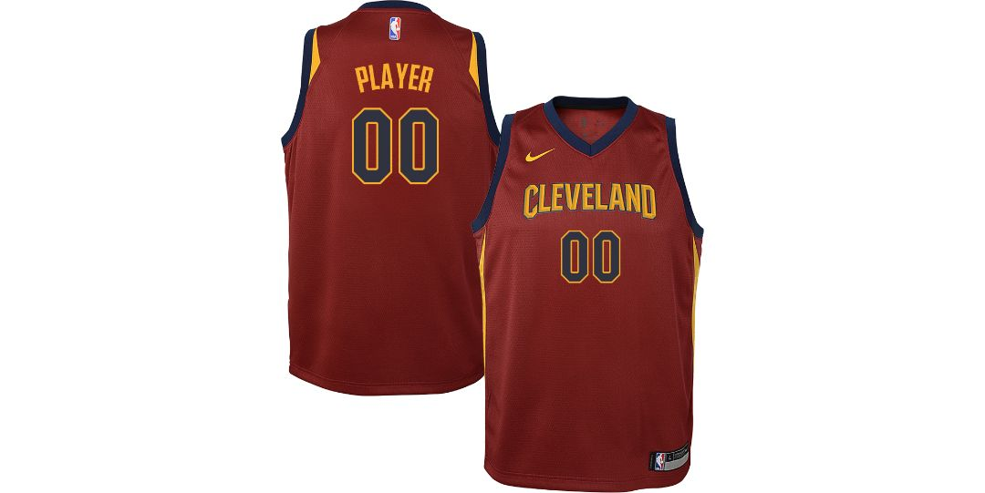 best deals on bdbe4 1b3f8 Nike Youth Full Roster Cleveland Cavaliers Red Dri-FIT Swingman Jersey