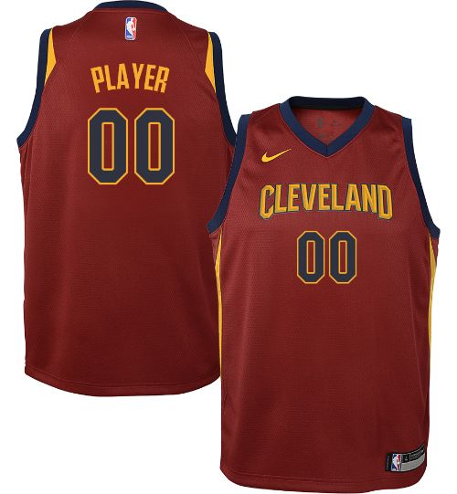 Nike Youth Full Roster Cleveland Cavaliers Red Dri-FIT Swingman ... 14c127409