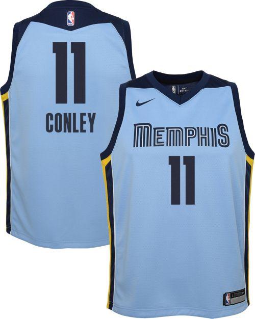 46644745e179 Nike Youth Memphis Grizzlies Mike Conley  11 Light Blue Dri-FIT Swingman  Jersey. noImageFound. Previous