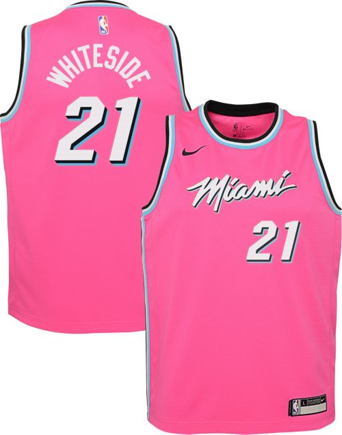 c5cafcced Nike Youth Miami Heat Hassan Whiteside Dri-FIT Earned Edition Swingman  Jersey. noImageFound. Previous
