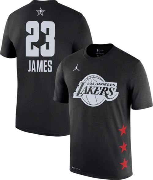 Jordan Youth 2019 NBA All-Star Game LeBron James Dri-FIT Black T-Shirt.  noImageFound. Previous 82d2d7826
