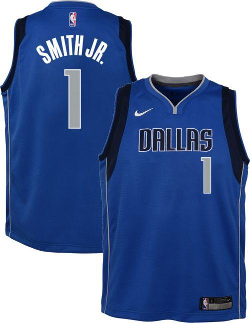 0de4668d4e9 ... inexpensive nike youth dallas mavericks dennis smith jr. 1 blue dri fit swingman  jersey 6752b