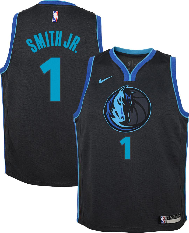 b517ad22 Nike Youth Dallas Mavericks Dennis Smith Jr. Dri-FIT City Edition Swingman  Jersey. noImageFound. Previous